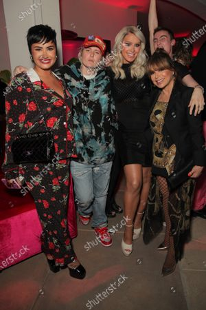 Demi Lovato, Nats Getty, Gigi Gorgeous and Paula Abdul attend a 'Cooking with Paris' Special Screening Event to Celebrate Paris Hilton's New Netflix Show