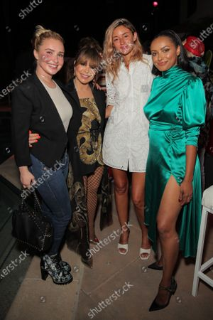 Hayden Panettiere, Paula Abdul, Caroline D'Amore and Kat Graham attend a 'Cooking with Paris' Special Screening Event to Celebrate Paris Hilton's New Netflix Show