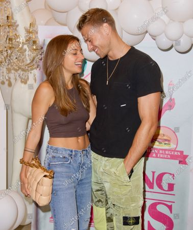 Inanna Sarkis and Matthew Noszka attend a 'Cooking with Paris' Special Screening Event to Celebrate Paris Hilton's New Netflix Show