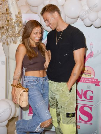 Stock Image of Inanna Sarkis and Matthew Noszka attend a 'Cooking with Paris' Special Screening Event to Celebrate Paris Hilton's New Netflix Show