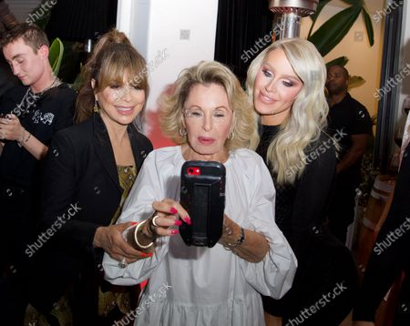 Paula Abdul, Nikki Haskell and Gigi Gorgeous attend a 'Cooking with Paris' Special Screening Event to Celebrate Paris Hilton's New Netflix Show