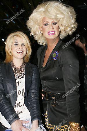 Kelly Osbourne and Elaine Lancaster