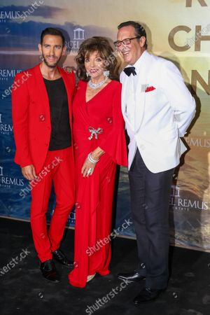 Marcel Remus, Joan Collins, Percy Gibson
