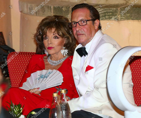 Joan Collins, Percy Gibson