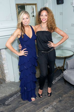 Stock Photo of Emily Tierney and Camilla Beeput
