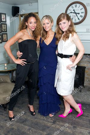 Stock Image of Camilla Beeput, Emily Tierney and Alice Bird