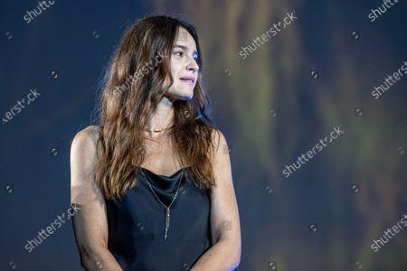 Kasia Smutniak from Poland on the Piazza Grande, during the 74th Locarno International Film Festival in Locarno, Switzerland, 06 August 2021. The Festival del film Locarno runs from 04 to 14 August 2021.