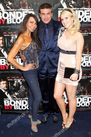 Lizzie Cundy, Tamer Hassan and Rebecca Walsh