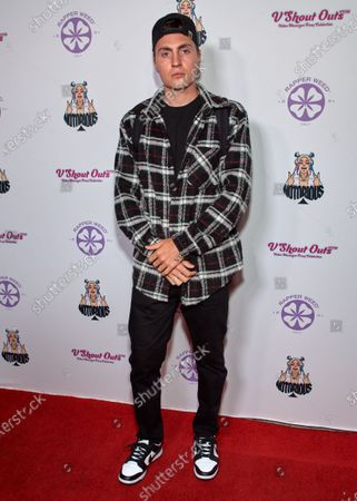Editorial photo of Ace Notorious Single Mira La Release Party, Arrivals, Los Angeles, California, USA - 06 Aug 2021