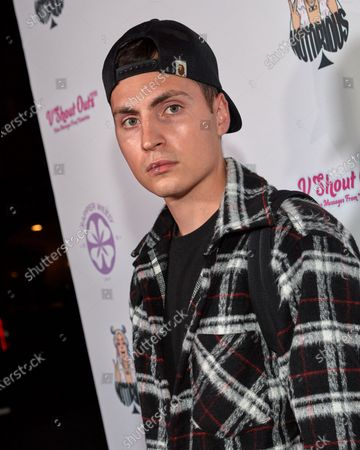 Editorial picture of Ace Notorious Single Mira La Release Party, Arrivals, Los Angeles, California, USA - 06 Aug 2021