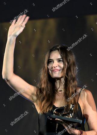 Kasia Smutniak Leopard Club Awards