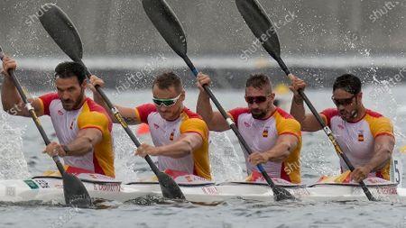 Editorial image of Olympics Canoe Sprint, Tokyo, Japan - 07 Aug 2021
