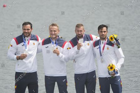 Editorial photo of Olympic Games 2020 Canoeing Sprint, Tokyo, Japan - 07 Aug 2021