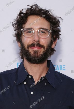 Josh Groban arrives at the opening night of Merry Wives, held at the Delacorte Theater, on August 6, 2021, in New York City.