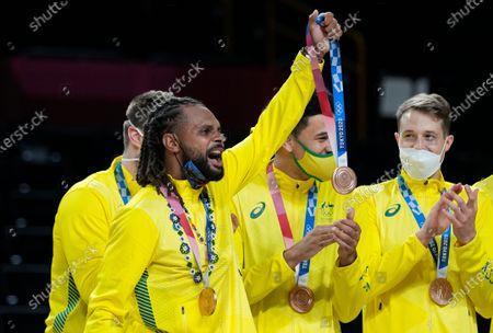 Editorial photo of Olympics Basketball, Tokyo, Japan - 07 Aug 2021