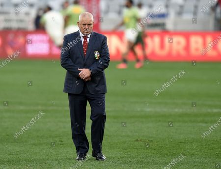 Warren Gatland - British & Irish Lions head coach.