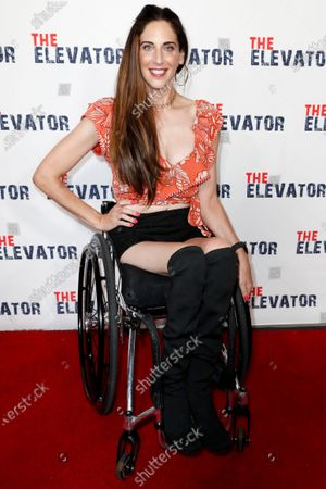 Editorial picture of The Elevator Film Premiere in Hollywood, USA - 07 Aug 2021