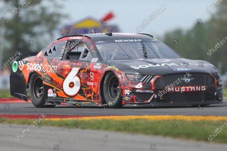 Ryan Newman drives through the Bus Stop during a NASCAR Cup Series auto race in Watkins Glen, N.Y., on