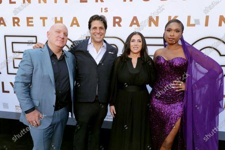 Scott Bernstein, Producer, Jonathan Glickman, Producer, Stacey Sher, Producer, and Jennifer Hudson, Executive Producer/Actor,