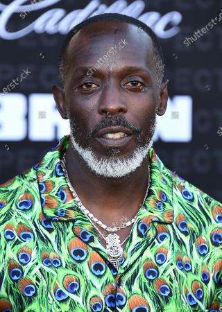 """Michael K. Williams arrives at the Los Angeles premiere of """"Respect"""" at the Regency Bruin Theater on in Westwood, Calif"""