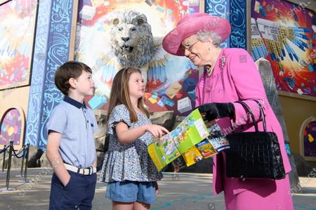 Editorial photo of Royal look-a-likes prepare to jet off on a mythical adventure on 'Flight of the Sky Lion', LEGOLAND, Windsor Resort, UK - 09 Aug 2021