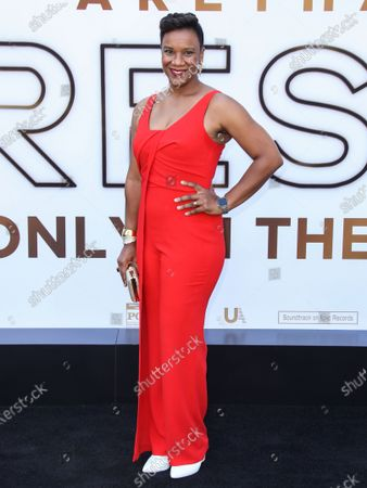 Editorial picture of 'Respect' film premiere, Arrivals, Los Angeles, California, USA - 08 Aug 2021