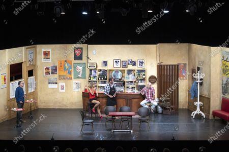 """Editorial image of Theatre """"Pair et Lac"""", Mandelieu-La-Napoule, France - 05 Aug 2021"""