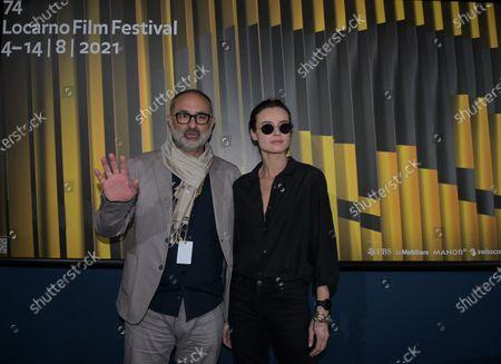 Editorial image of Kasia Smutniak at the Locarno Film Festival, Locarno, Switzerland - 07 Aug 2021