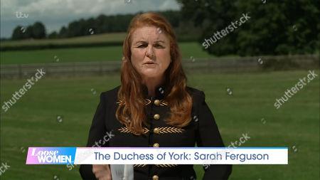 Stock Image of Sarah Ferguson Duchess of York