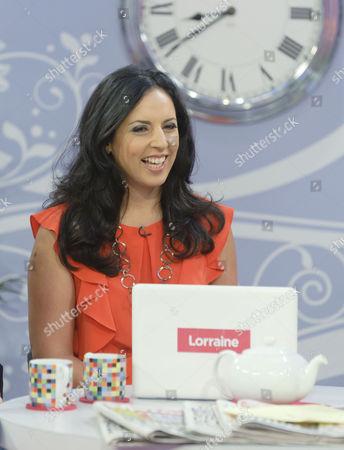 Editorial photo of 'Lorraine Live' TV Programme, London, Britain - 15 Sep 2010