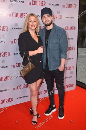 Alex Murphy and Paul Klein attend Gala Screening of The Courier, at Everyman Broadgate, London