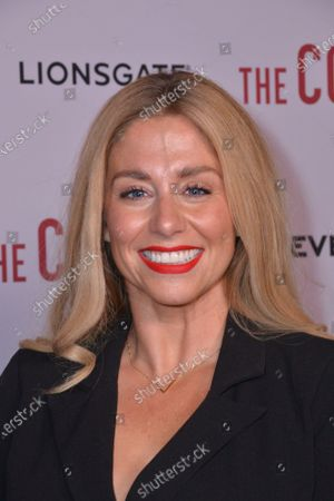 Alex Murphy attends Gala Screening of The Courier, at Everyman Broadgate, London