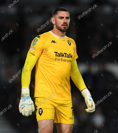Editorial picture of Derby County v Salford City, Carabao Cup, First Round, Football, Pride Park Stadium, Derby, UK - 10 August 2021