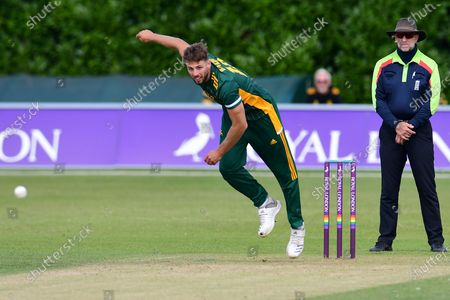 Editorial image of Nottinghamshire County Cricket Club v Northamptonshire County Cricket Club, Royal London 1 Day Cup - 10 Aug 2021