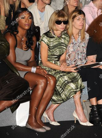 Serena Williams, Anna Wintour and Virginia Smith