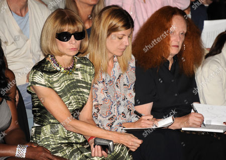 Serena Williams, Anna Wintour, Virginia Smith and Grace Coddington