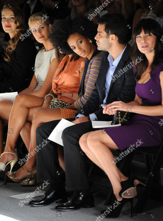 Editorial picture of Luca Luca show Spring 2011, Mercedes-Benz Fashion Week, New York, America - 14 Sep 2010