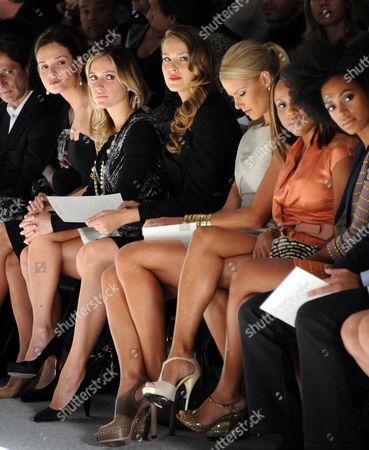 Stock Photo of Guest, Kristin Cavallari, Petra Nemcova, Beth Ostrosky Stern, Debra Cox and Solange Knowles