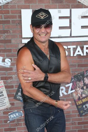 Chris Bauer at the premiere of Starz Heels in Los Angeles, California on August 10, 2021.