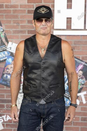 Chris Bauer poses on the red carpet prior to the premiere of the Starz television series 'Heels' in Los Angeles, California, USA, 10 August 2021. The wrestling drama will premiere worldwide on 15 August 2021.