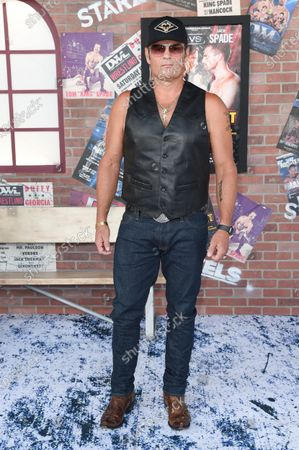 """Chris Bauer arrives at the premiere of """"Heels"""" on Tuesday, Aug. 10. 2021, in Los Angeles"""