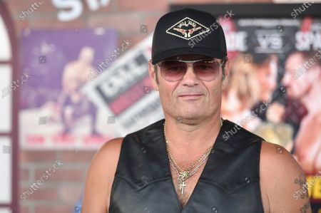 """Stock Photo of Chris Bauer arrives at the premiere of """"Heels"""" on Tuesday, Aug. 10. 2021, in Los Angeles"""