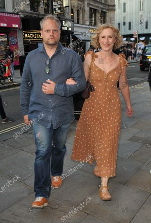 Editorial picture of 'The Windsors: Endgame' play press night, Prince of Wales Theatre, London, UK - 10 Aug 2021