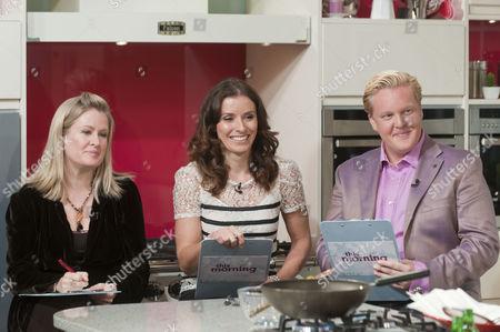 Borra Garson, Tana Ramsay and Olly Smith