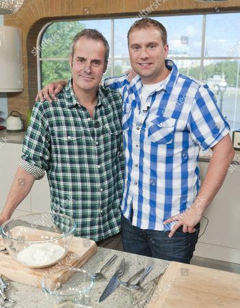 Phil Vickery and Tarrant Ablett