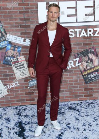 Editorial photo of Starz 'Heels' TV show premiere, Arrivals, Los Angeles, California, USA - 10 Aug 2021
