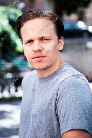 Swedish actor Valter Skarsgard photographed in Stockholm, Sweden