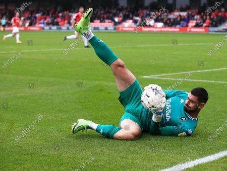 Salford City goalkeeper Tom King