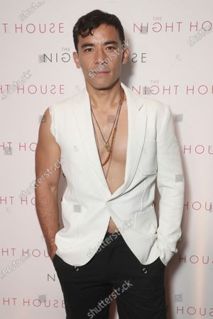 """Conrad Ricamora attends a Special Screening for Searchlight Pictures """"The Night House """" on Wed Aug 11, 2021 in New York."""
