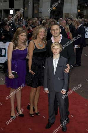 Kevin Lewis and his Family